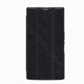Nillkin Flip leather Case Holster Cover Skin for Sony Ericsson XL39H Xperia Z Ultra - Black