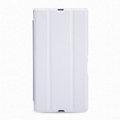 Nillkin Flip leather Case Holster Cover Skin for Sony Ericsson XL39H Xperia Z Ultra - White