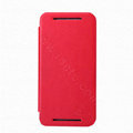 Nillkin Flip leather Case book Holster Cover Skin for HTC Butterfly S 901e - Red