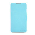 Nillkin Fresh Flip leather Case book Holster Cover Skin for Coolpad 5950 - Blue