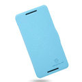 Nillkin Fresh Flip leather Case book Holster Cover Skin for HTC Butterfly S 901e - Blue