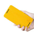 Nillkin Fresh Flip leather Case book Holster Cover Skin for HTC Butterfly S 901e - Yellow