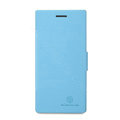 Nillkin Fresh Flip leather Case book Holster Cover Skin for HUAWEI Ascend P2 - Blue