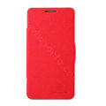 Nillkin Fresh Flip leather Case book Holster Cover Skin for Lenovo P780 - Red