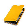 Nillkin Fresh Flip leather Case book Holster Cover Skin for Lenovo P780 - Yellow