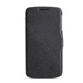 Nillkin Fresh Flip leather Case book Holster Cover Skin for Lenovo S820 - Black