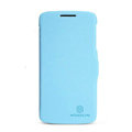Nillkin Fresh Flip leather Case book Holster Cover Skin for Lenovo S820 - Blue