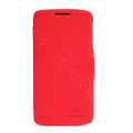 Nillkin Fresh Flip leather Case book Holster Cover Skin for Lenovo S820 - Red