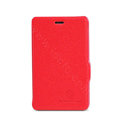 Nillkin Fresh Flip leather Case book Holster Cover Skin for Nokia Lumia 501 - Red