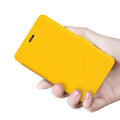 Nillkin Fresh Flip leather Case book Holster Cover Skin for Nokia Lumia 501 - Yellow