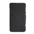 Nillkin Fresh Flip leather Case book Holster Cover Skin for Nokia Lumia 625 - Black
