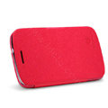 Nillkin Fresh Flip leather Case book Holster Cover Skin for Samsung I8260 I8262 Galaxy Core - Red