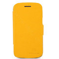 Nillkin Fresh Flip leather Case book Holster Cover Skin for Samsung I8260 I8262 Galaxy Core - Yellow