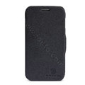 Nillkin Fresh Flip leather Case book Holster Cover Skin for Samsung S7270 Galaxy Ace 3 - Black