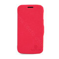 Nillkin Fresh Flip leather Case book Holster Cover Skin for Samsung S7270 Galaxy Ace 3 - Red