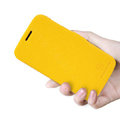 Nillkin Fresh Flip leather Case book Holster Cover Skin for Samsung S7270 Galaxy Ace 3 - Yellow