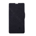 Nillkin Fresh Flip leather Case book Holster Cover Skin for Sony Ericsson M36h Xperia ZR - Black