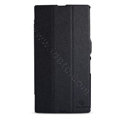 Nillkin Fresh Flip leather Case book Holster Cover Skin for Sony Ericsson XL39H Xperia Z Ultra - Black