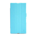 Nillkin Fresh Flip leather Case book Holster Cover Skin for Sony Ericsson XL39H Xperia Z Ultra - Blue