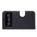 Nillkin In-Fashion Flip leather Case Stand Holster Cover for Samsung I9200 Galaxy Mega 6.3 - Black