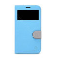 Nillkin In-Fashion Flip leather Case Stand Holster Cover for Samsung I9200 Galaxy Mega 6.3 - Blue