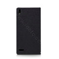 Nillkin Simplicity Flip leather Case Stand Holster Cover for HUAWEI P6 - Black