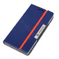 Nillkin Simplicity Flip leather Case Stand Holster Cover for HUAWEI P6 - Blue