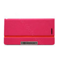 Nillkin Simplicity Flip leather Case Stand Holster Cover for HUAWEI P6 - Rose