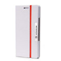 Nillkin Simplicity Flip leather Case Stand Holster Cover for HUAWEI P6 - White