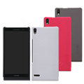 Nillkin Super Matte Hard Back Case Skin Cover for HUAWEI P6 - Red