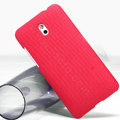 Nillkin Super Matte Hard Case Skin Cover for HTC Desire 609D - Red
