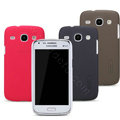 Nillkin Super Matte Hard Case Skin Cover for Samsung I8260 I8262 Galaxy Core - Red