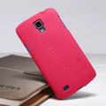 Nillkin Super Matte Hard Case Skin Cover for Samsung I9295 GALAXY SIV Active - Red
