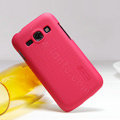 Nillkin Super Matte Hard Case Skin Cover for Samsung S7270 Galaxy Ace 3 - Red