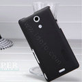 Nillkin Super Matte Hard Case Skin Cover for Sony Ericsson M36h Xperia ZR - Black