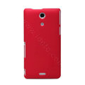 Nillkin Super Matte Hard Case Skin Cover for Sony Ericsson M36h Xperia ZR - Red