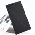 Nillkin Super Matte Hard Case Skin Cover for Sony Ericsson XL39H Xperia Z Ultra - Black
