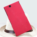 Nillkin Super Matte Hard Case Skin Cover for Sony Ericsson XL39H Xperia Z Ultra - Red