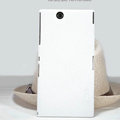 Nillkin Super Matte Hard Case Skin Cover for Sony Ericsson XL39H Xperia Z Ultra - White