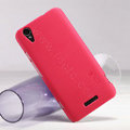 Nillkin Super Matte Hard Case Skin Cover for ZTE V975 Geek - Red