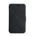 Nillkin Victory Flip leather Case Button Holster Cover Skin for BlackBerry Q5 - Black