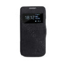Nillkin Victory Flip leather Case Button Holster Cover Skin for Samsung I9190 GALAXY S4 Mini - Black