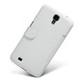 Nillkin Victory Flip leather Case Button Holster Cover Skin for Samsung I9200 Galaxy Mega 6.3 - White