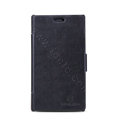 Nillkin Victory Flip leather Case book button Holster Cover for Nokia Lumia 925T - Black