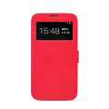 Nillkin Victory leather Case Button Holster Cover Skin for Samsung I9200 Galaxy Mega 6.3 - Red