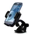 Cobao Sucker Universal Car Bracket Support Stand for HUAWEI Ascend G700 - Black
