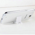 Plastic Universal Bracket Phone Holder for HUAWEI Ascend G700 - White
