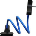 Universal Car Bracket + Sucker Phone Holder for HUAWEI Ascend G700 - Blue
