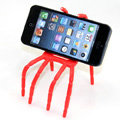 Spider Universal Bracket Phone Holder for iPhone 5C - Red