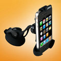 JWD Sucker Universal Car Bracket Support Stand for iPhone 5S - Black
